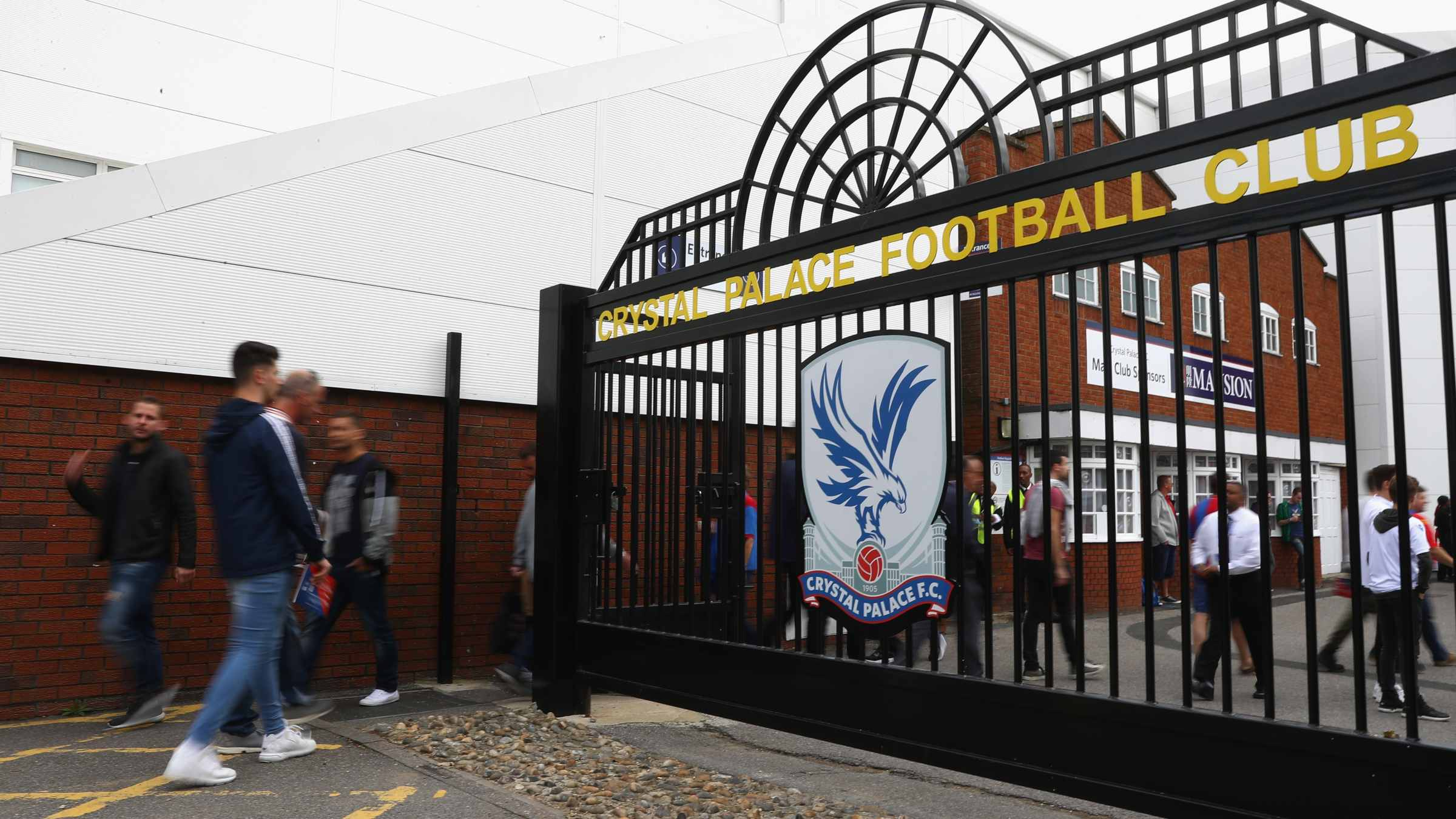 Supporter information for Palace clash