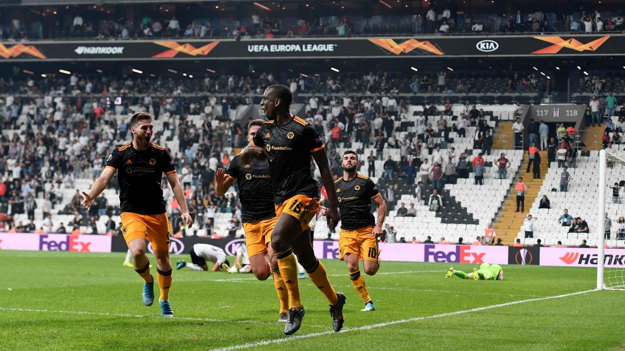Besiktas 0-1 Wolves   Match report