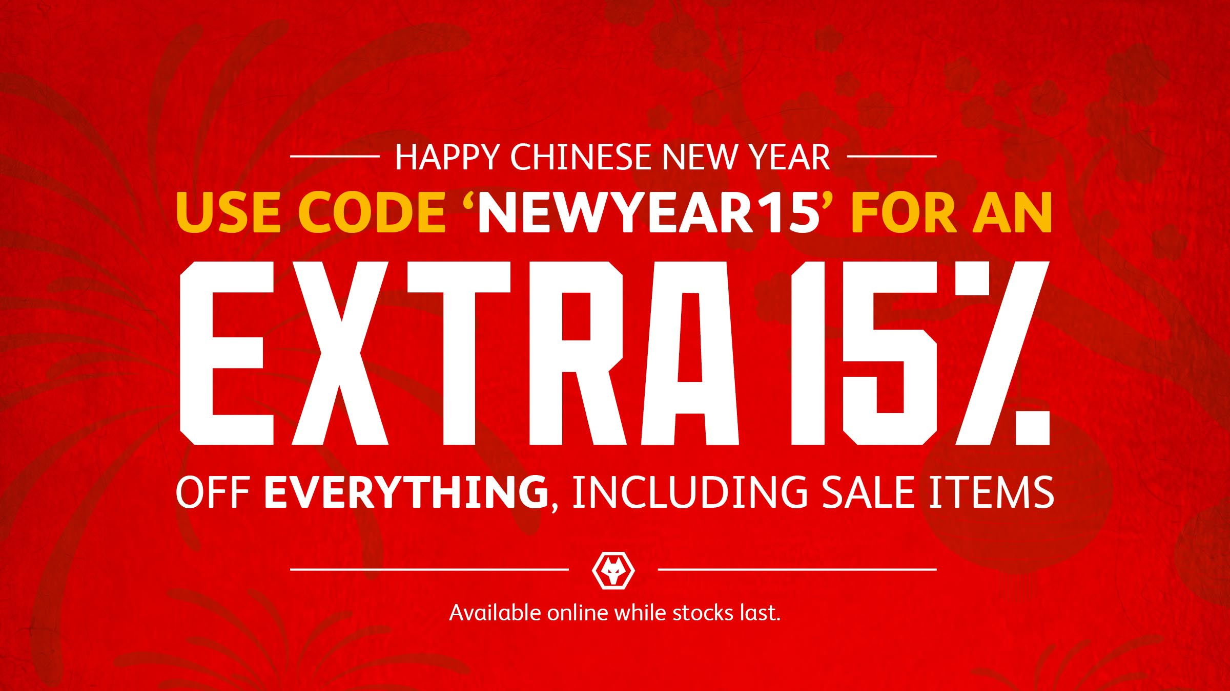 Celebrate Chinese New Year at the Wolves Shop