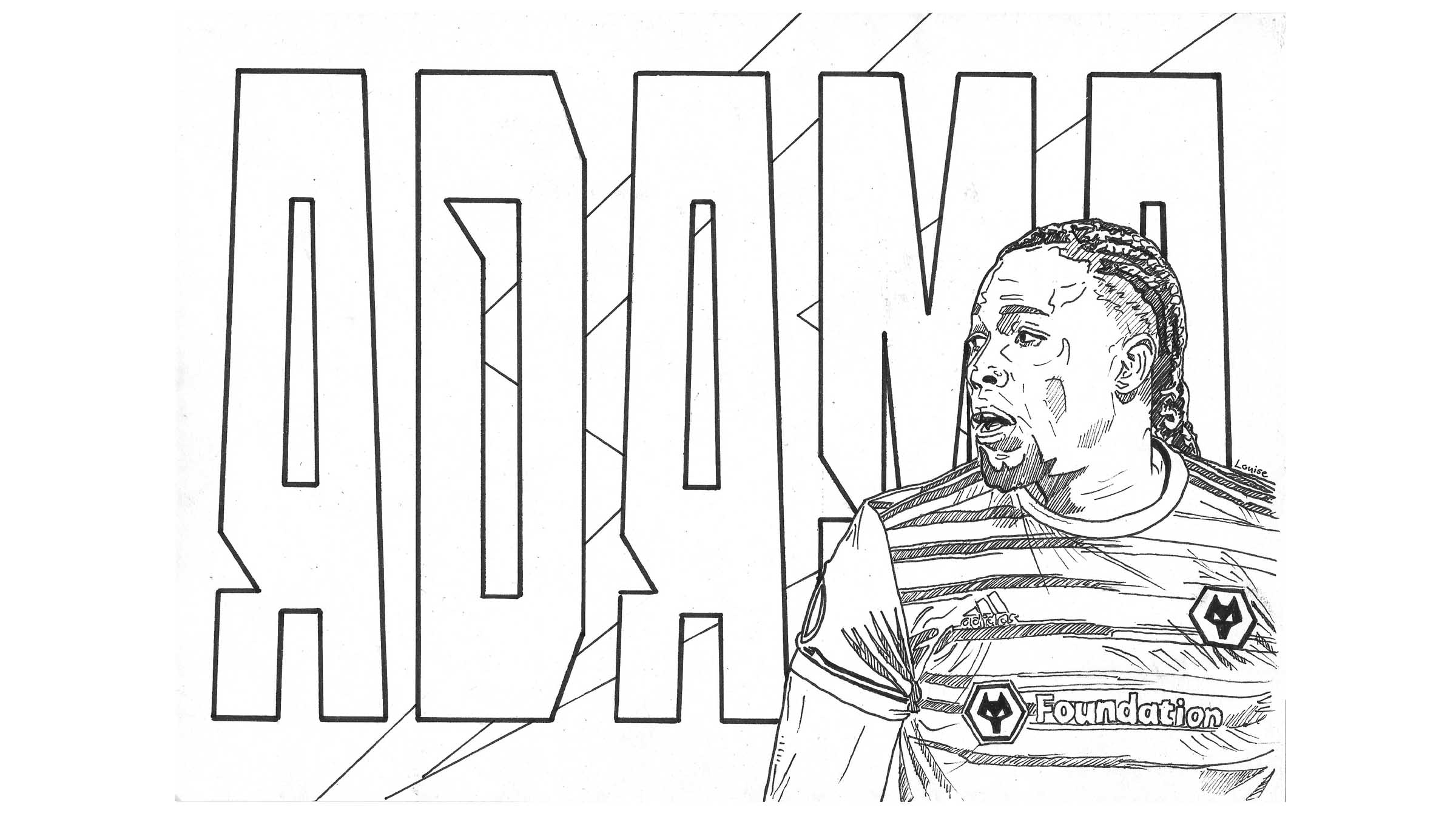 Download your free Wolves colouring pack