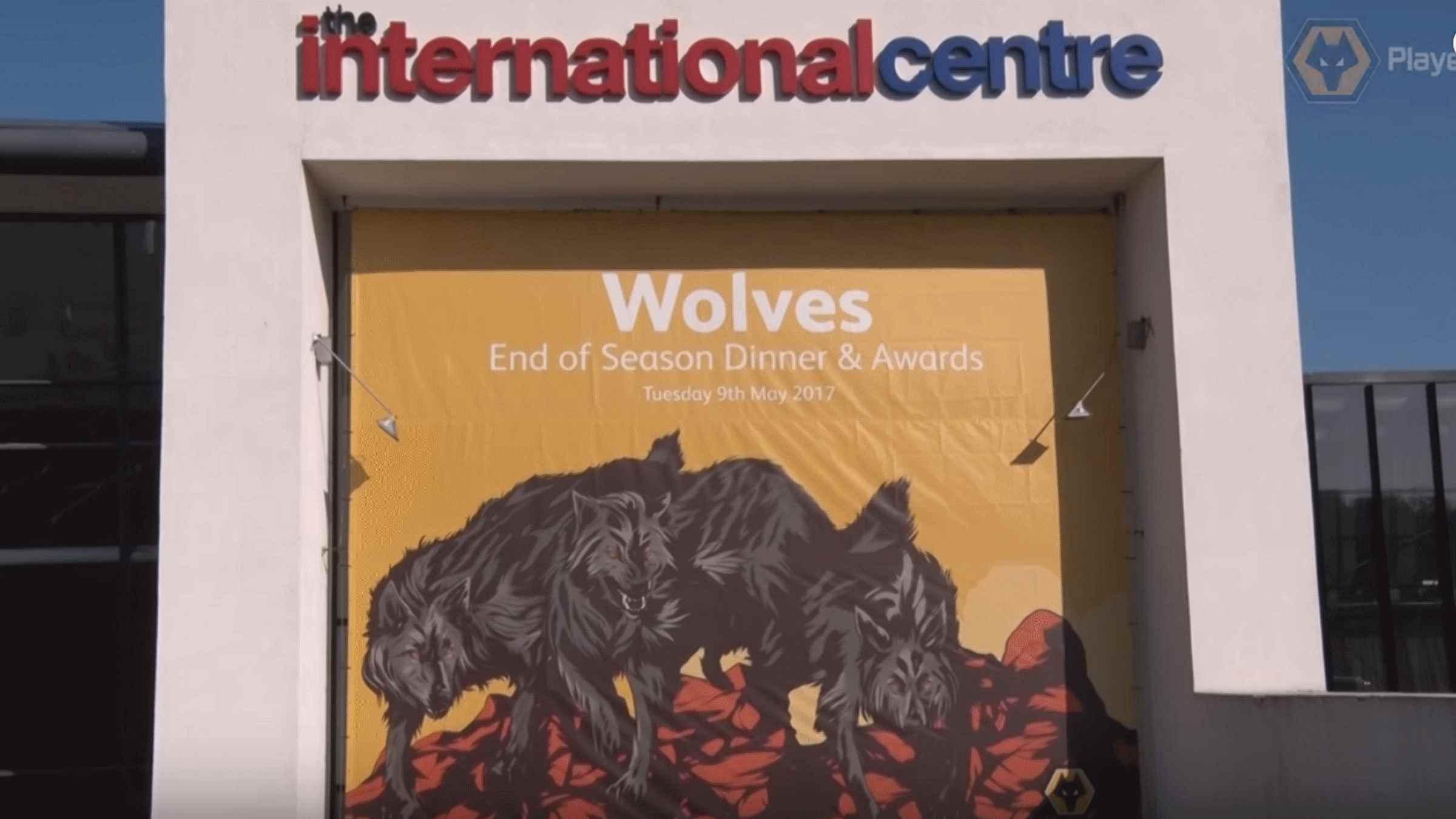 Wolves 2017 End of Season Dinner player interviews