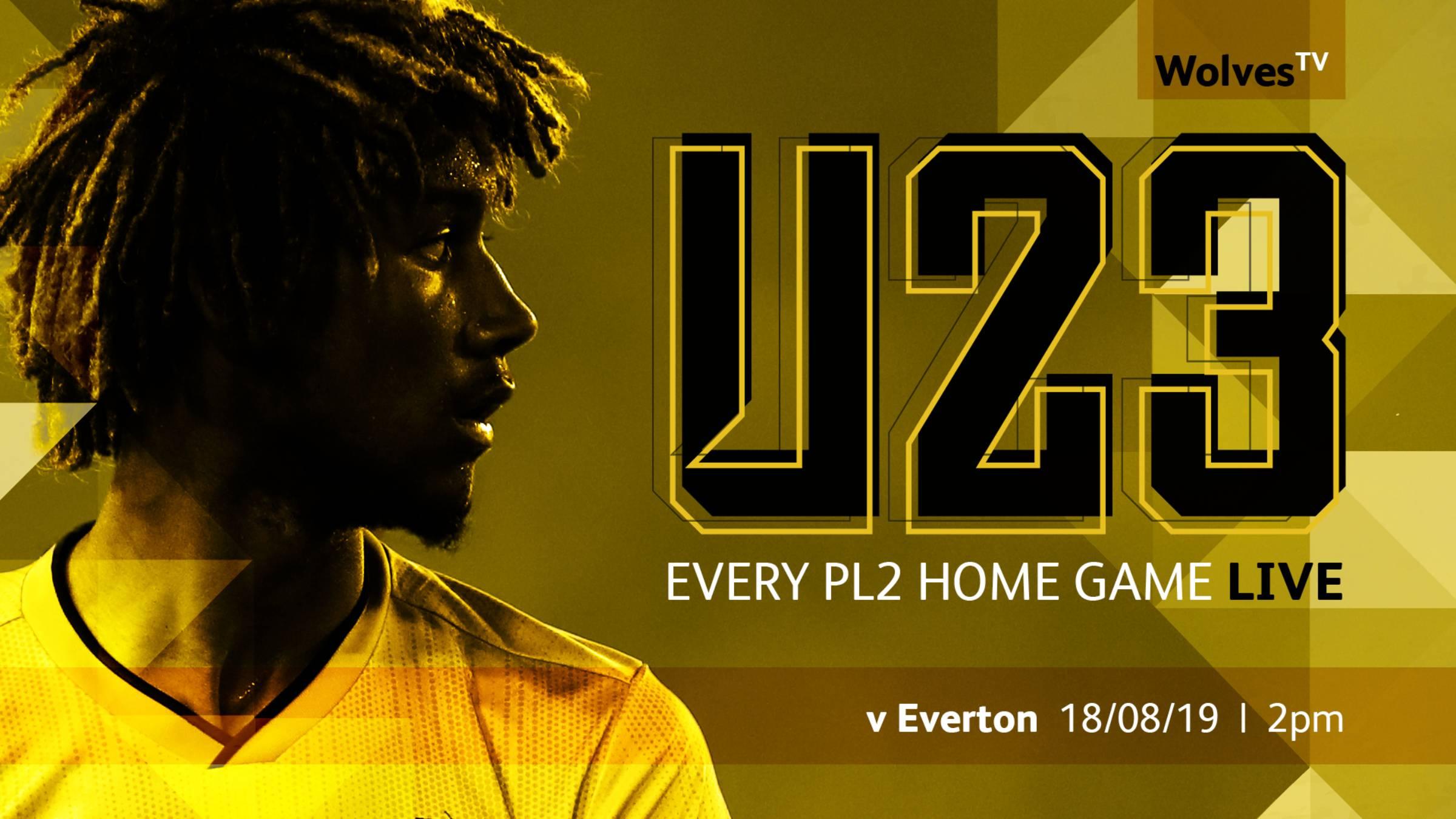 Under-23's PL2 home matches streamed live on WolvesTV